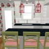 inspiring-floral-wallpaper-kitchen-white-kitchen-red-green