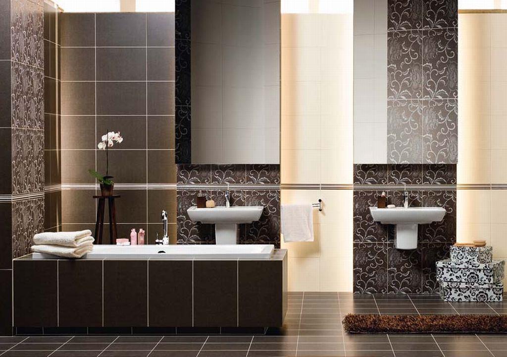 для ванной комнаты: кафель или плитка