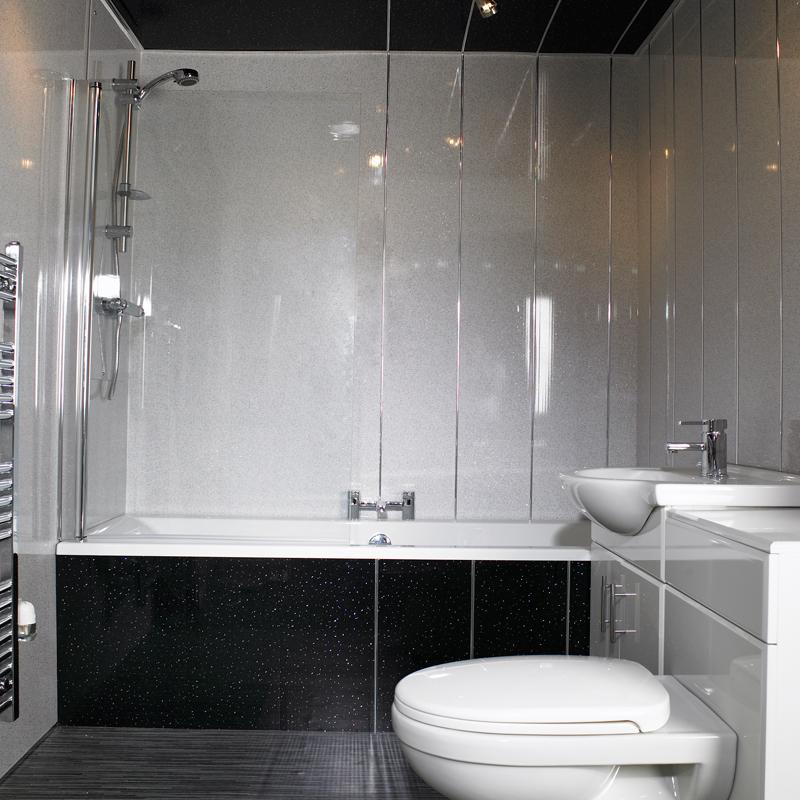 Ванная комната из панелей своими руками видео