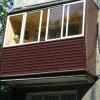 внешняя-отделка-балкона-профилированным-листом