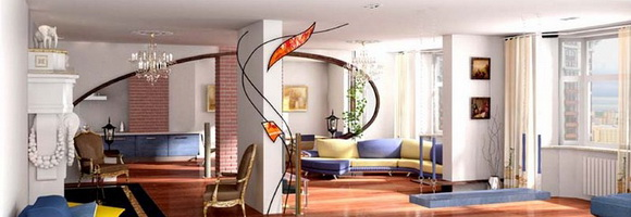 Современная планировка квартиры – создание единого пространства