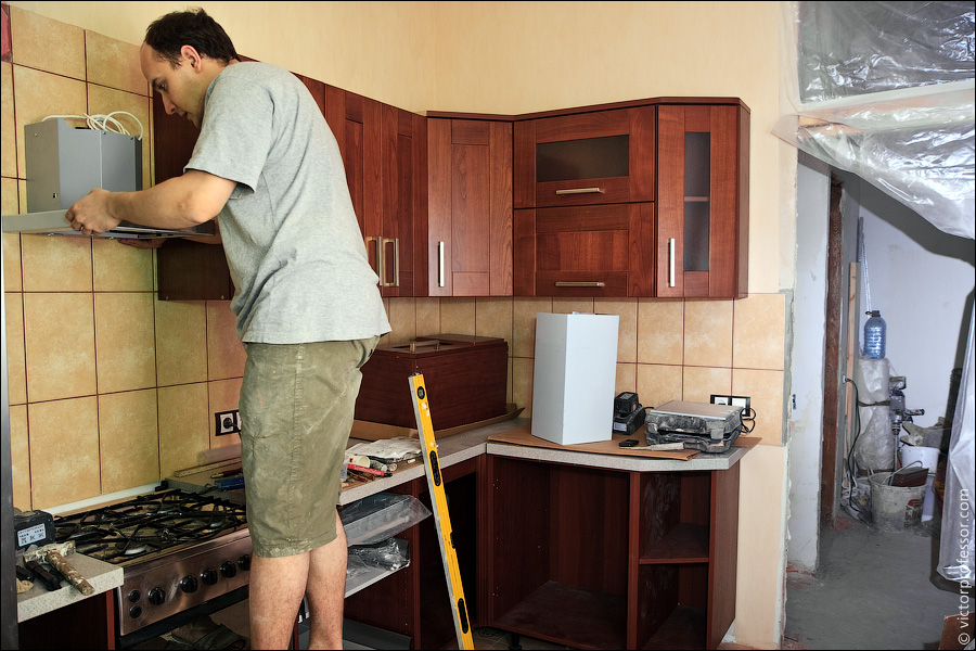 Ремонт квартиры своими руками в кухне