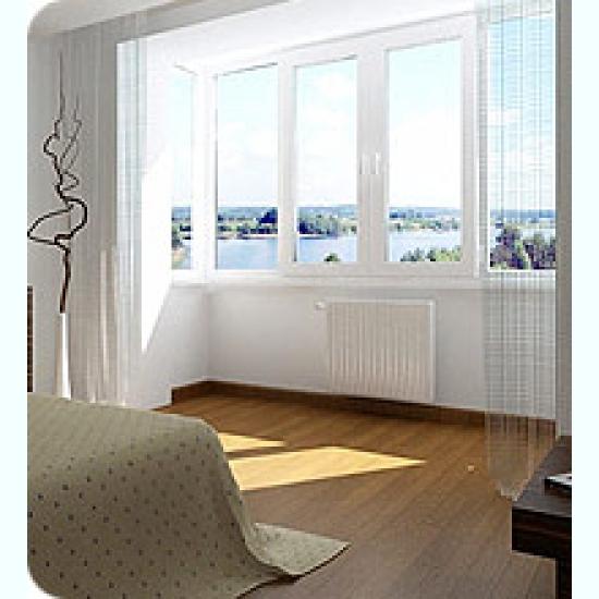 Остекление, утепление, отделка балконов и лоджий - москва.