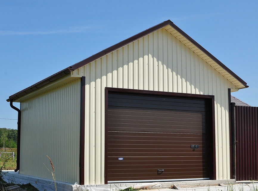 Проект двух гаражей