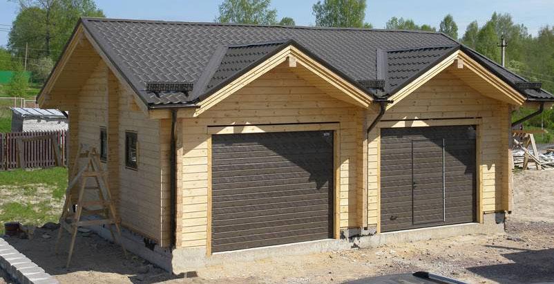 Как построить недорого гараж своими руками