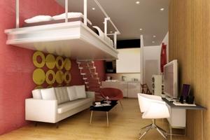 Интерьер маленькой комнаты