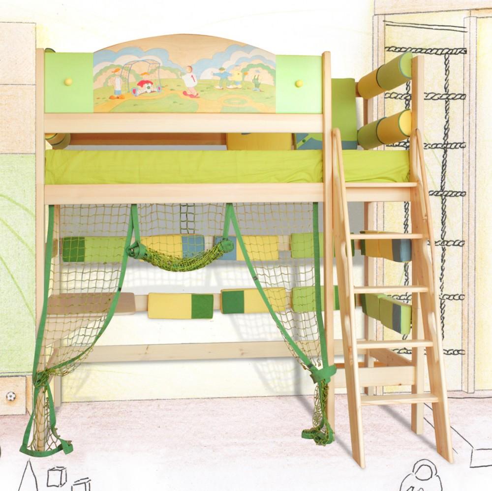 Как сделать двухъярусную кровать своими руками для