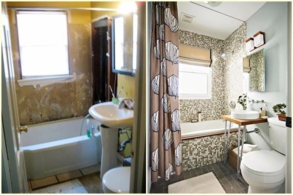 Ремонт ванной комнаты: фото ванных комнат до и после ремонта