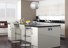 Дизайн кухни в белом цвете: фото идей для белого интерьера кухни