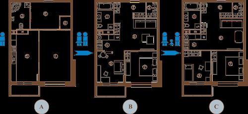Поделитесь опытом перепланировки квартиры в доме 60011