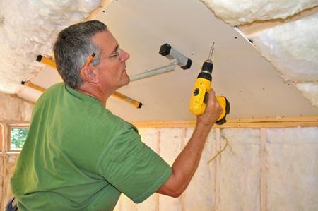 Как сделать звукоизоляцию потолка своими руками