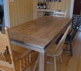 Как сделать стол для дачи своими руками