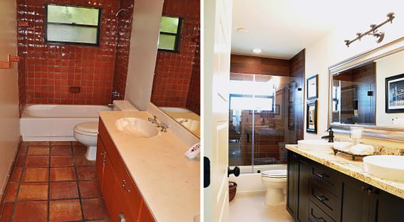 Ремонт маленькой ванной комнаты в хрущевке: фото до и после