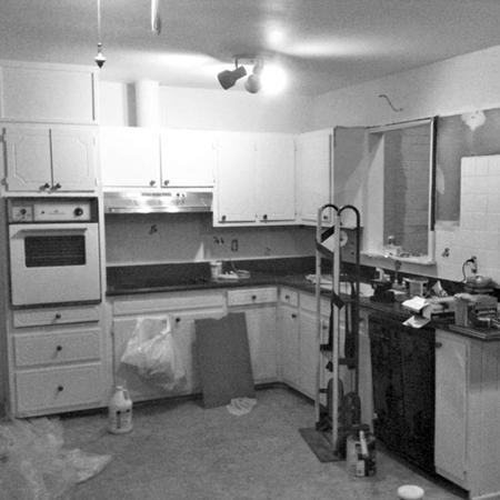Ремонт маленькой кухни в хрущевке своими руками: фото до и после