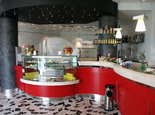 Pizzeria interior design ideas