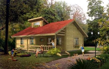 Деревянные дома своими руками