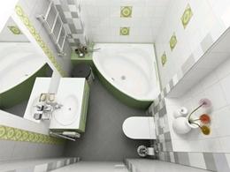 Ремонт ванной комнаты в брежневке