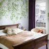 leafy-green-wallpaper-bedroom