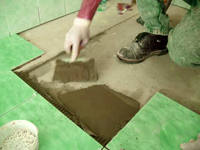 Наклейка кафельной плитки своими руками