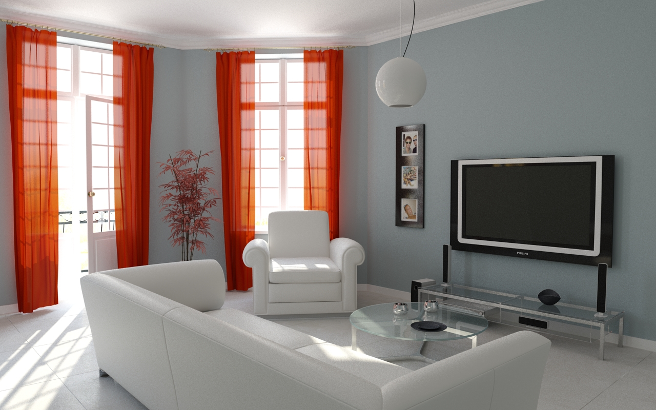 Curtain ideas for modern living room