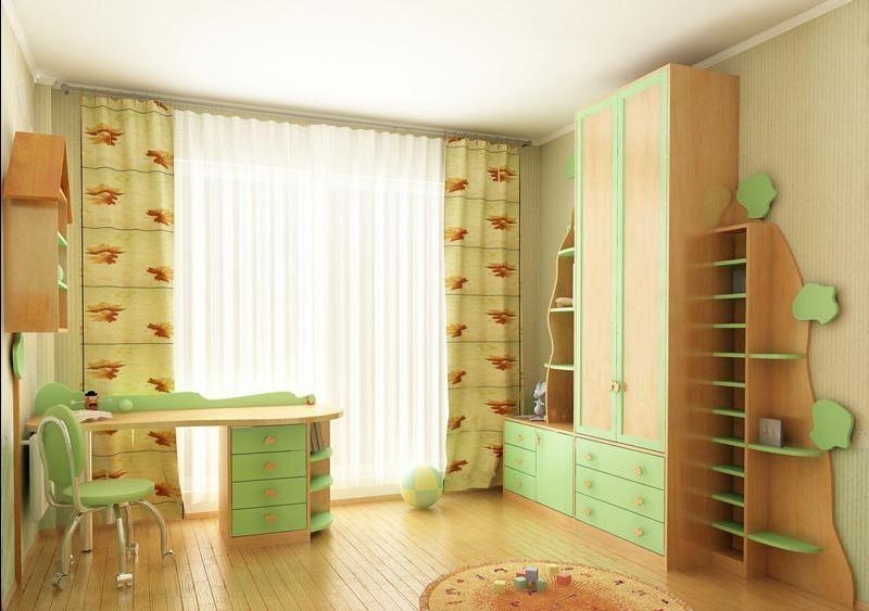 Мебель для детских и игровых комнат.