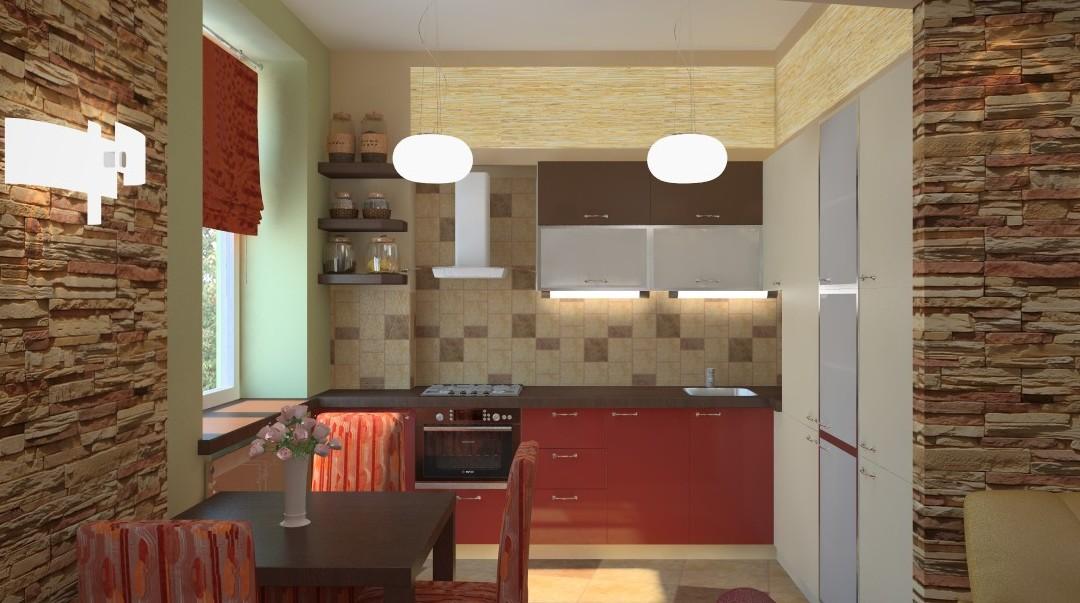 Дизайн кухни совмещенной с комнатой фото дизайн