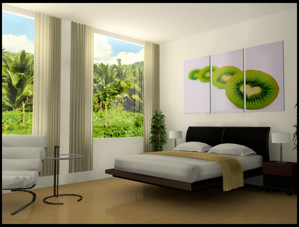 Дизайн спальни с фотообоями фото своими руками 79