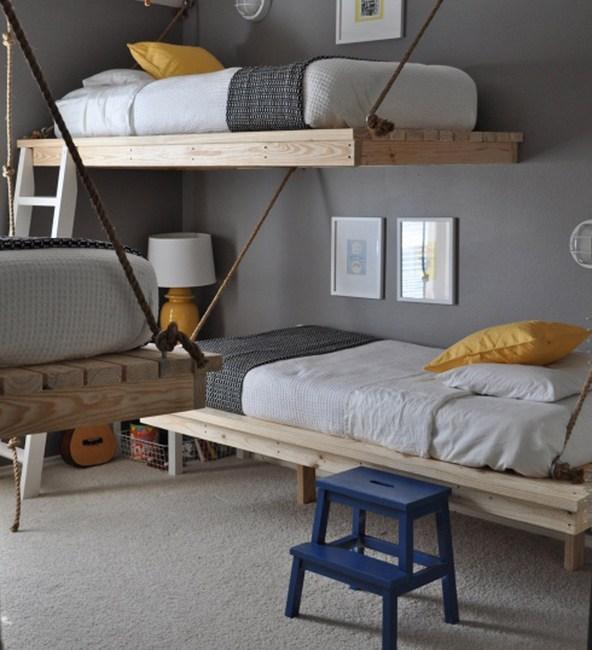 Навесная кровать фото