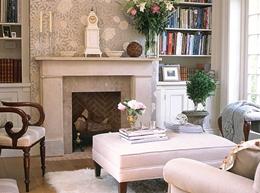 Дизайн большой гостиной с камином. Как лучше оформить интерьер