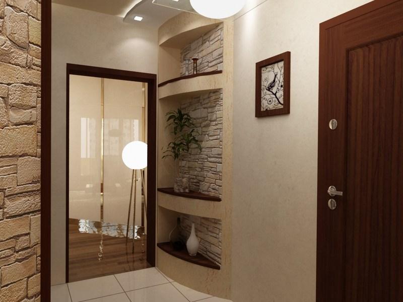 Интерьеры прихожих и коридоров фото