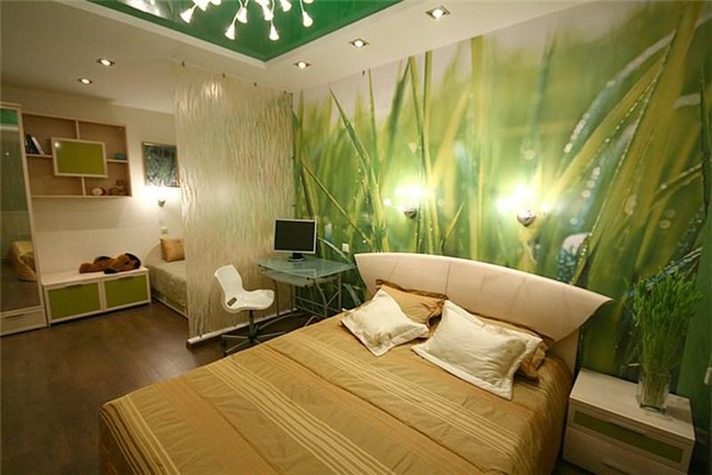 Дизайн спальни фото в квартире 14 кв.м