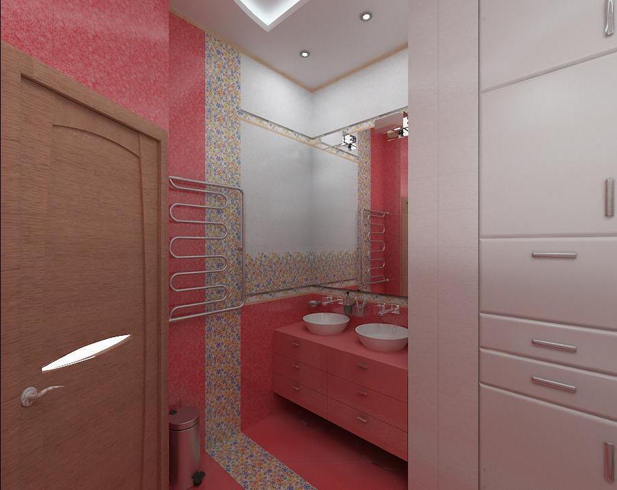 Дизайн ванной комнаты 5 кв м фото