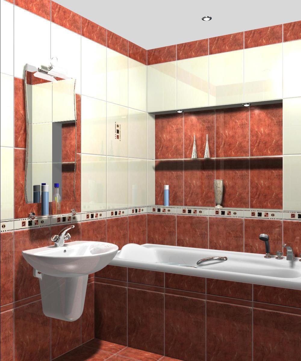 Дизайн ванной комнаты 3 кв. м фото