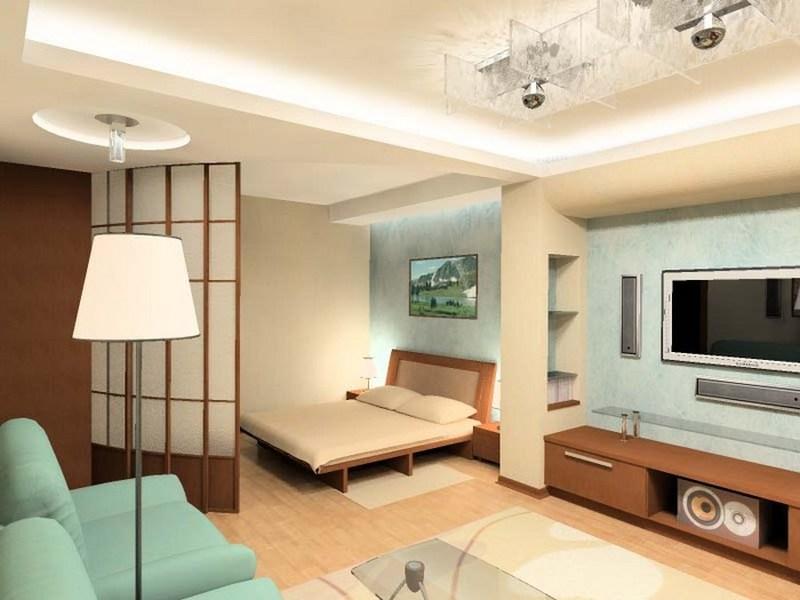 Дизайн проекты однокомнатной квартиры