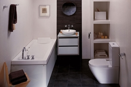 Дизайн ванной комнаты 3 кв. м