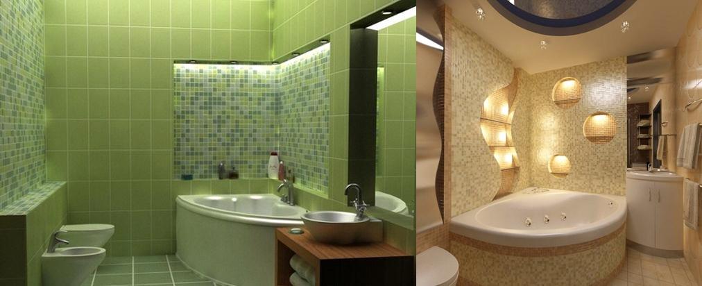 Дизайн ванной комнаты 6 кв.м с туалетом