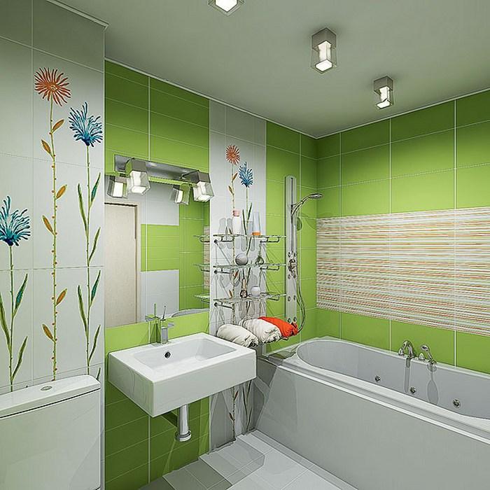 Дизайн маленькой ванной комнаты совмещенной с туалетом