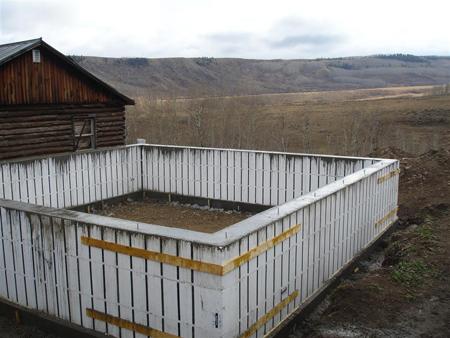 Фундамент для дома из пеноблоков своими руками