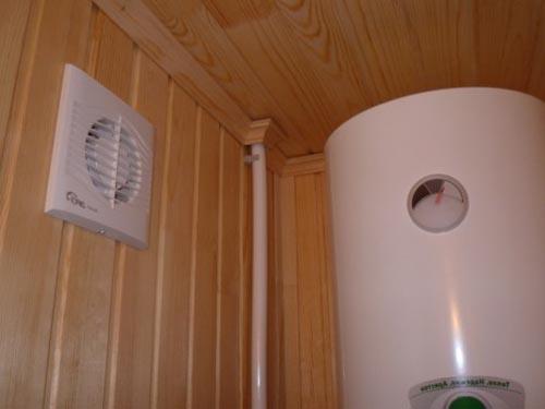 Правильная вентиляция в бане своими руками