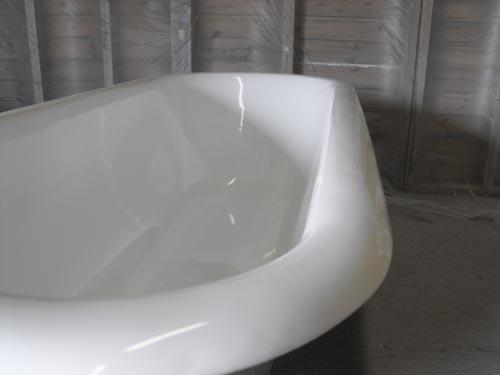 Восстановление эмали ванны - способы решения проблемы