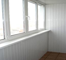 Чем и как отделать балкон внутри