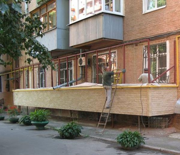 Узаконить остекление балкона..