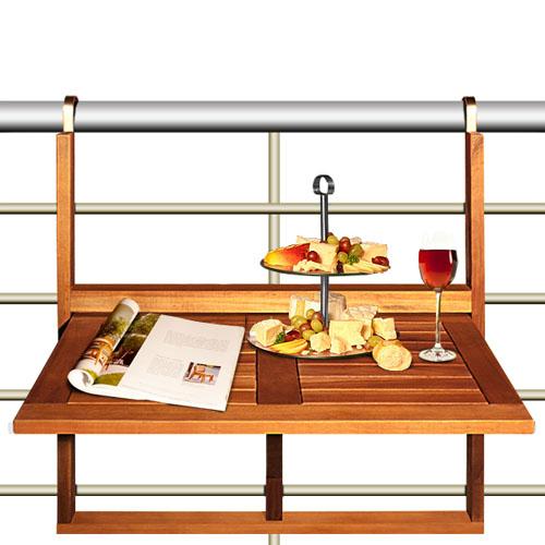 Откидной стол для балкона