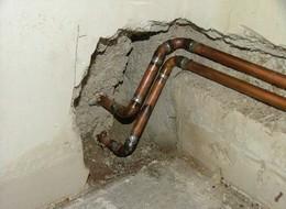 Каким образом монтируется медная труба для отопления