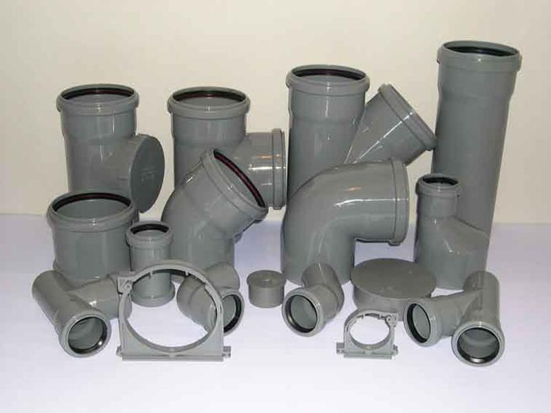 Основные виды фитингов для канализационных труб