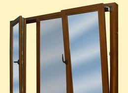 Деревянные окна со стеклопакетом. Фото в интерьере