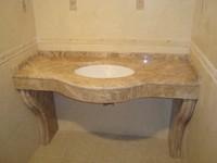 Столешницы для ванной. Выбор природного камня