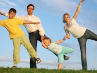 Занятия спортом всей семьей