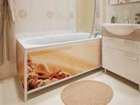 Экран под ванну – виды и разновидности