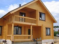 Особенности домов из бруса от Алмаз-2000